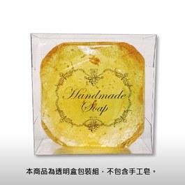 透明皂盒包裝組~歐式花框20入/組