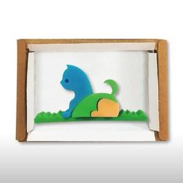 皂玩藝~歡樂動物園DIY組合包-小貓(單入)