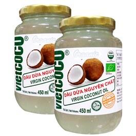 悅特可可 特級冷壓初榨椰子油(Vietcoco Extra Virgin Coconut Oil)