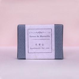 皂包裝組~紋路風格-灰藍色