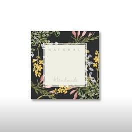 空白標籤貼紙-歐式花園