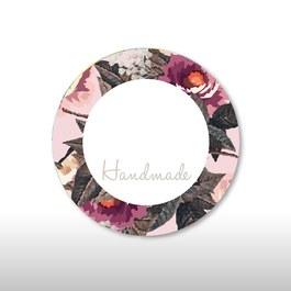 圓標貼紙-經典玫瑰